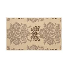 4 X 6 Outdoor Rug Tatton Taupe Indoor Outdoor Rug 4 X 6 Ft Free