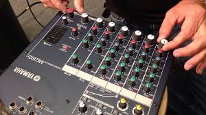 Best Small Mixing Desk Jireh Supplies Demonstrates How To Connect External Mixer And Mics