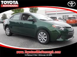 toyota corolla for rent vehicle rentals toyota of mcdonough