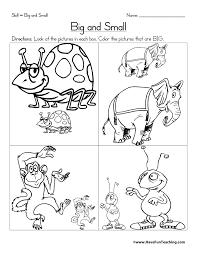 size worksheets for kids have fun teaching