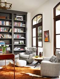 Floor To Ceiling Bookcase Plans How To Make A Small Room Look Bigger 25 Tips That Work Stylecaster