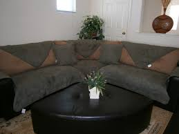 Classic Sectional Sofa Quilted Bonded Or Classic Micro Suede Sectional Sofa Cover Pad