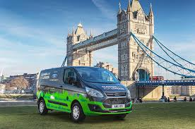 ford commercial actor ford puts plug in hybrid commercial vans to the test in london