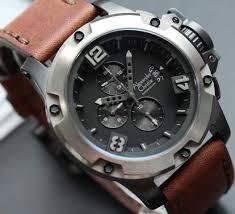 Jam Tangan Alexandre Christie Terbaru Pria jam tangan ac 6295 coklat tua jam tangan tali kulit alexandre christie