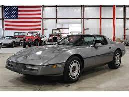 1984 chevrolet corvette for sale 1984 chevrolet corvette for sale on classiccars com 18 available