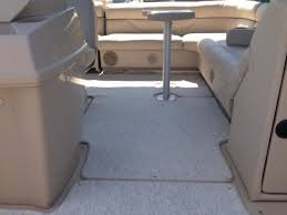 Vinyl Pontoon Boat Flooring by Snap In Carpet On Site Boat Care