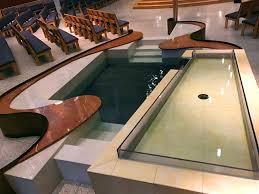 baptismal pools vip mke all saints catholic church onmilwaukee