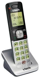 vtech cs6709 expandable cordless handset only silver cs6709 best buy