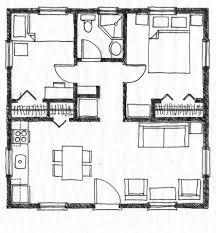 Floor Plan Of Two Bedroom House by Home Design Floor Plans 3 Bedroom 2 Bath House With Garage