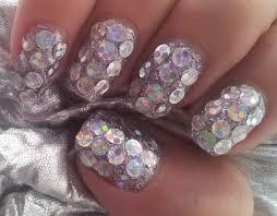 nye extreme sparkle nail art tutorial youtube