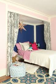 Girls With Beef Curtains Remodelaholic Get This Look Girls U0027 Shared Bedroom Symmetry