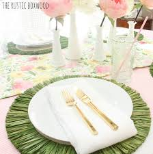 decorating our dining table for spring u2014 styled 3 ways
