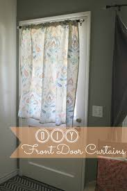 Cynthia Rowley Curtain Sew Chatty Diy Shower Curtain To Front Door Curtain Tutorial