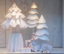 Christmas Window Decorations With Ornaments by Paris Chanel Holiday Window Decorations Popsugar Home