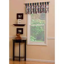 patchwork plaid window valance tab top carousel designs