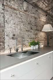 Wall Panels For Kitchen Backsplash Kitchen Faux Brick Backsplash In Kitchen Faux Brick Panels