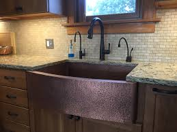 kitchen sinks apron oil rubbed bronze sink specialty copper