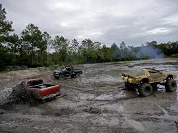 mudding cars digging into the world of mud bogging in north central florida