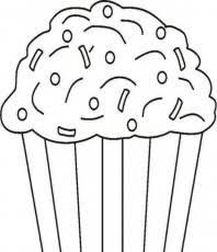 cute cupcake coloring pages printable cupcake coloring page foods coloring pages of