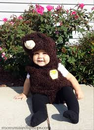 Baby Bear Halloween Costume Bear Romper Halloween Costume Pretend Kids Momma