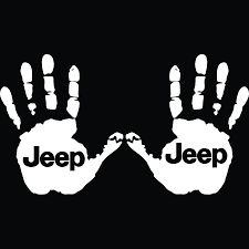 mitsubishi jdm logo jeep wave hands with jeep logo decals u2013 ztr graphicz