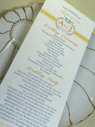 formal wedding programs 27 best wedding program styles images on wedding