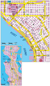 Topographic Map Seattle by Maps Us Map Seattle