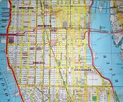 Walking Map Of New York City by Download Street Map Of New York City Major Tourist Attractions Maps
