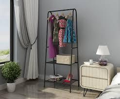 mulsh clothing garment rack coat organizer storage shelving unit