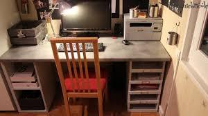 construire un bureau en bois fabriquer soi même un bureau en bois stéphanie bricole
