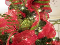 christmas mesh ribbon deco mesh christmas tree ladybug wreaths by nancy