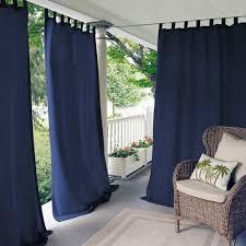 Outdoor Patio Curtain Outdoor Patio Curtain Elrene Highland Stripe Indoor Outdoor Tab