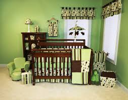 combined boy and bedroom ideas green beige solid wood kid