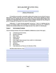 Living Will And Power Of Attorney Forms by Arkansas Medical Power Of Attorney Form Power Of Attorney