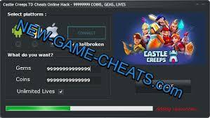 Home Design Cheats For Coins Castle Creeps Td Cheats Online Hack U2013 99999999 Coins Gems Lives