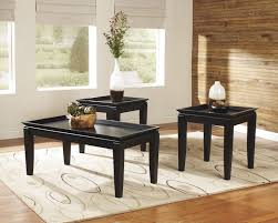 cheap 3 piece living room table set furniture of america saxton 3