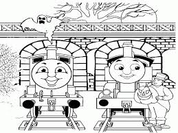 coloring pages thomas train coloring