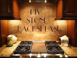 Stone Backsplash Design Feel The Diy Stone Backsplash U2013 Interior Design Design News And
