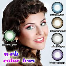 Light Brown Contact Lenses Wholesale Cosmeitc Light Ice Blue Natural Color Contact Lenses