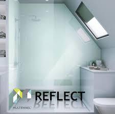Acrylic Bathroom Wall Panels Multipanel Reflect Multipanel Reflect Acrylic Bathroom Wall