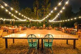 Backyard Lights Ideas Outstanding Backyard String Lights A Beautiful Backyard Lighting