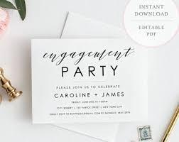 Engagement Party Invites Engagement Invites Etsy