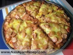 membuat pizza gang resepi pizza mudah lembut sedap cepat senang sukatan cawan tanpa