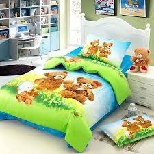 Duvet Cover For Baby Teddy Bear Super Soft Duvet Cover Teddy Bear Quilt From Baby