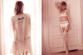 Lingerie For Brides Meet The New Lingerie Line For Brides Who Are More Daring Than