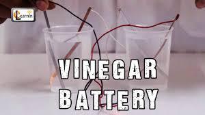 how to make a vinegar battery homemade vinegar battery science