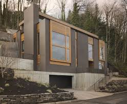 mountainside home plans modern mountainside house in portland oregon creative thinking
