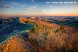 Iowa travel and tourism images Loess hills national scenic byway iowa tourism map travel guide jpg