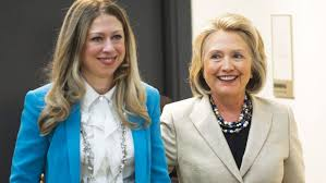 hillary clinton s childhood hillary clinton and chelsea clinton pga gather tv talent for l a