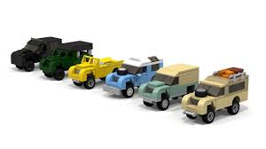 land rover lego lego mini scale land rover series defender pack 1 tutorial youtube